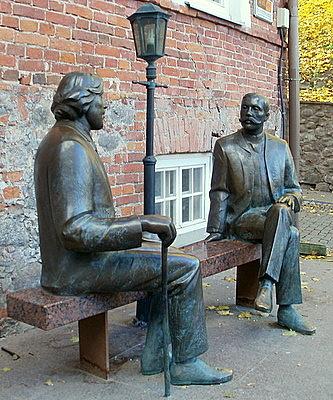 Kahden Wilden monumentti Tartto
