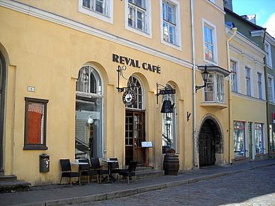 Reval Cafe kahvila Tallinna