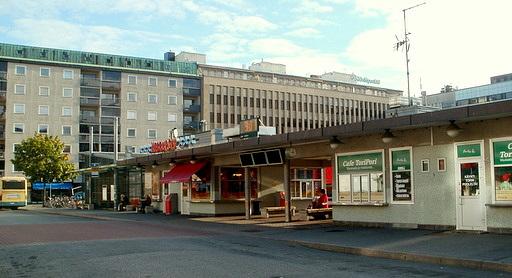 Kauppatori linja-autoasema Pori