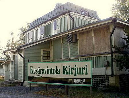 Kesäravintola Kirjuri Pori
