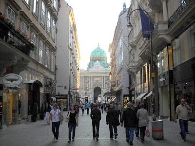 Kohlmarkt Vienna Austria