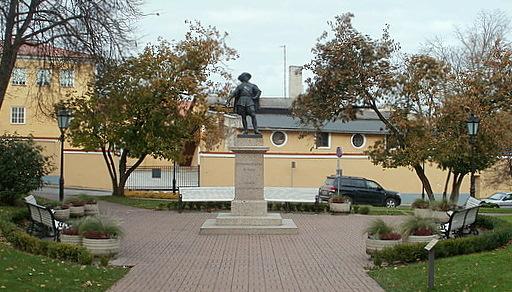 Kustaa II Adolfin muistomerkki Tartto