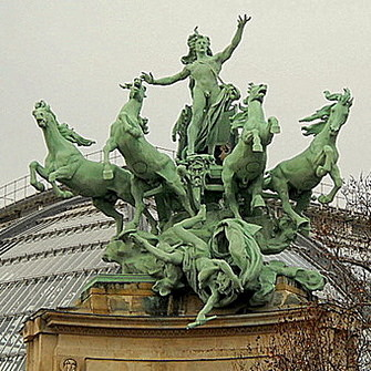 L'harmonie triomphan de la discorde Grand Palais Paris France