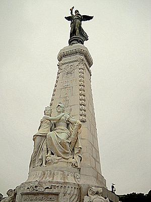 Le monument du centenaire Nice France