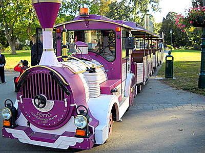 Liliputbahn Prater amusement park Vienna Austria