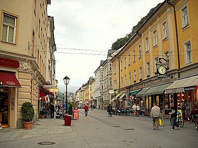 Linzergasse Salzburg Austria
