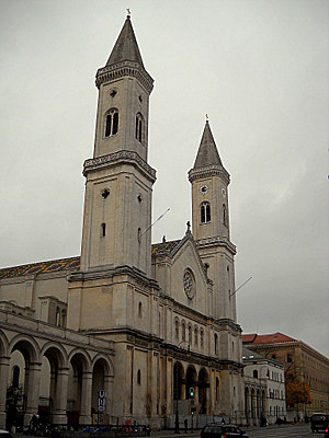 Ludwigskirche Munich Germany