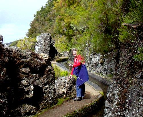Madeira Levada kävelyreitti