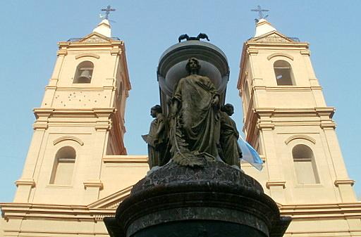 Manuel Belgrano mausoleum Santisimo Rosario basilica Buenos Aires