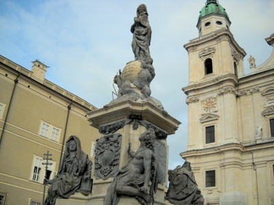 Maria Immaculata statue Salzburg Austria