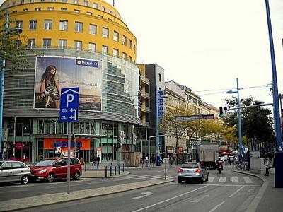Mariahilferstrasse shopping street Vienna Austria