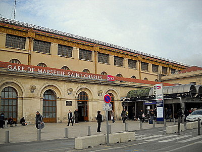 Mariseille Gare de Saint Charles train station