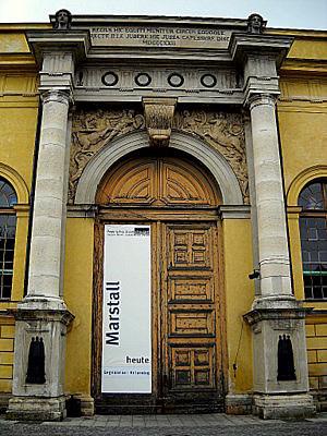 Marstall entrance Munich Germany