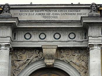 Marstall facade Munich Germany