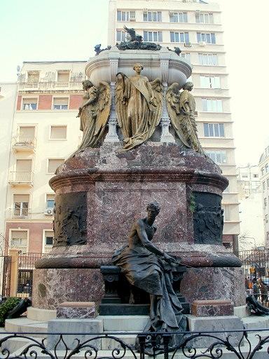 Mausoleo a Manuel Belgrano Buenos Aires Argentina