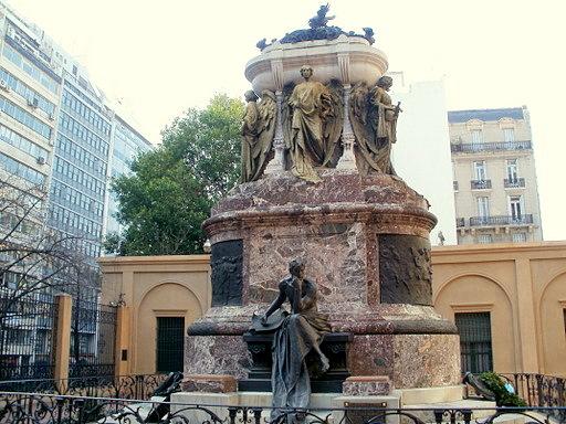 Mausoleo a Manuel Belgrano Buenos Aires