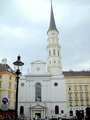 Michaelerkirche Vienna Austria