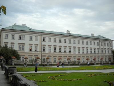 Mirabell palace Salzburg Austria