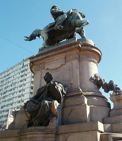 Monumento a Giuseppe Garibaldi Buenos Aires