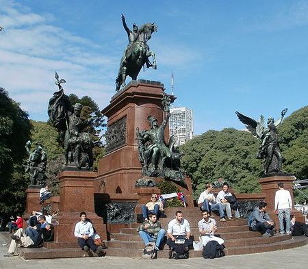 Monumento al General San Martin Buenos Aires