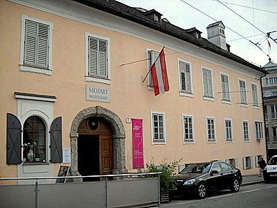 Mozart-Wohnhaus in Salzburg Austria