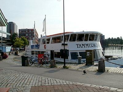 M/S Tammerkoski Hopealinja Laukontorin satama Tampere