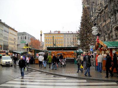 Munich Christmas market Germany