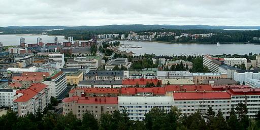 Näkymä Harju Jyväskylä