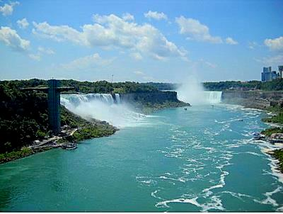 Niagara Falls from Rainbow Bridge