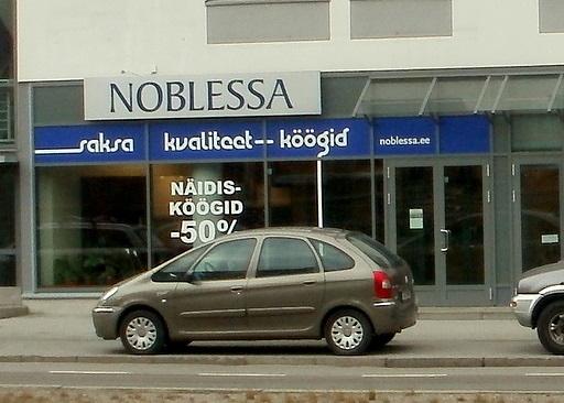 Noblessa Kvaliteetköögid Tallinna
