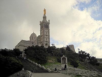 Notre Dame de la Garde in Marseille France