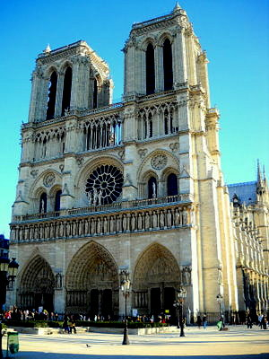 Notre Dame in Paris France