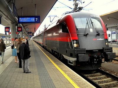 ÖBB Railjet Linz