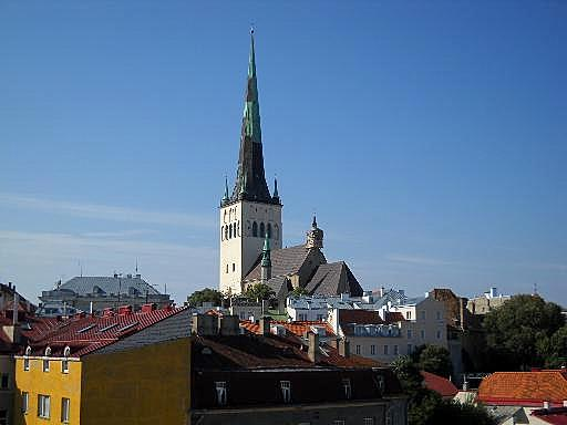 Olevisten kirkko vanhakaupunki Tallinna