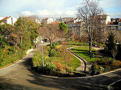 Parc Longchamp in Marseille France