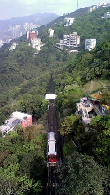 Peak juna Hong Kong