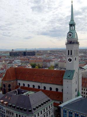 Peterskirche Munich Germany