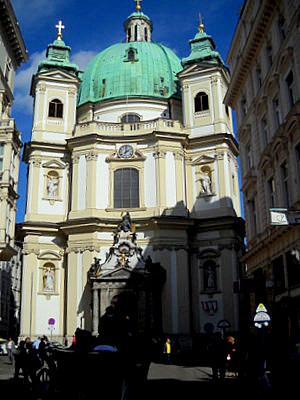 Peterskirche Vienna Austria