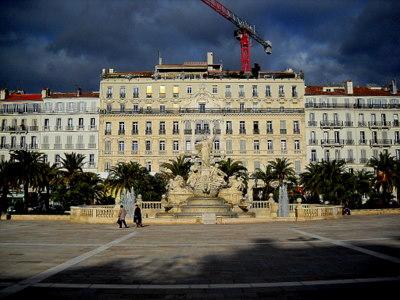 Place de la Liberte Toulon France