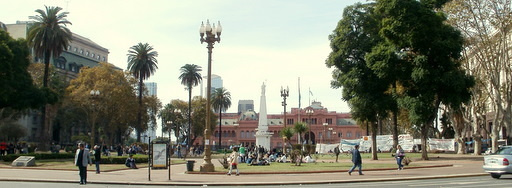 Plaza de Mayo Piramide de Mayo Casa Rosada Buenos Aires