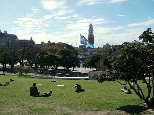 Plaza San Martin Monumento a los Caidos en Malvinas Buenos Aires
