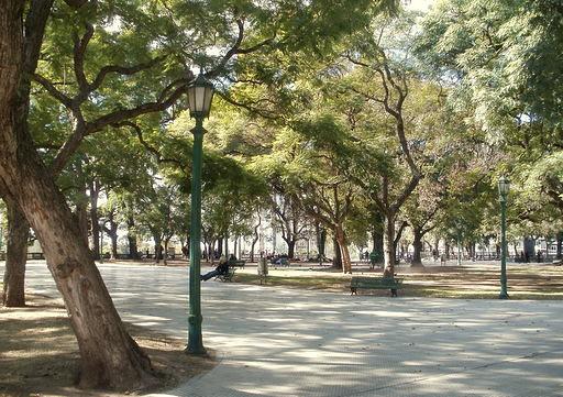 Plaza San Martin park Buenos Aires