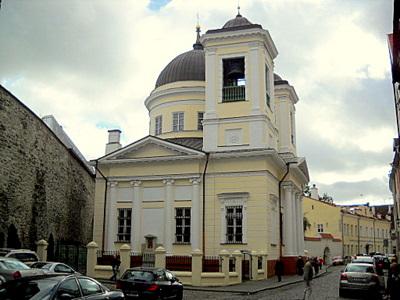 Pyhän Nikolai Ihmeidentekijän kirkko Tallinna