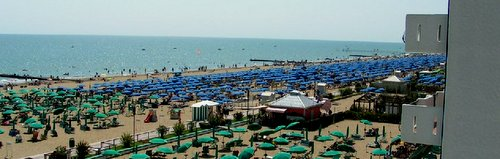 Lido di Jesolo resort near Venice
