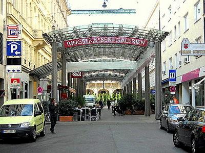 Ringstrassen Galerien Vienna Austria