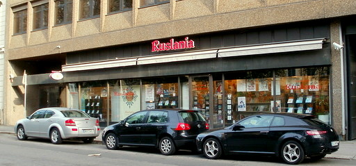 Ruslania kirjakauppa Helsinki