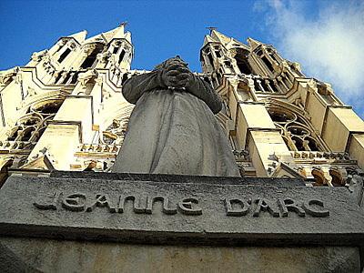 Saint Vincent de Paul Marseille Joan of Arc statue