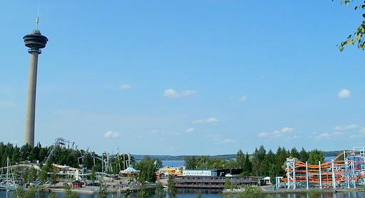 Särkänniemi huvipuisto Tampere