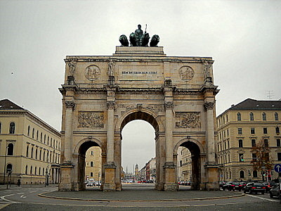 Siegestor Munich Germany