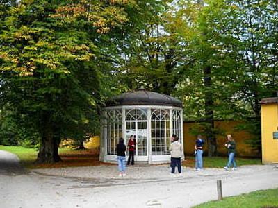 Sound of Music pavilion Hellbrunn palace Salzburg Austria